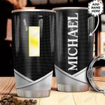 Personalized US Navy O1 Metal Style HHZ1211031 Stainless Steel Tumbler