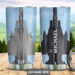 Personalized US Air Force Plane HLZ1211029 Stainless Steel Tumbler