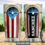 Personalized Puerto Rico HLZ1211020 Stainless Steel Tumbler