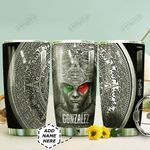 Personalized Aztec Warrior Mexico HHZ1211006 Stainless Steel Tumbler