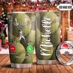 Softball Calling Personalized MDA1311034 Stainless Steel Tumbler