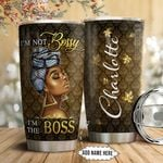 Black Women Personalized NNR1311006 Stainless Steel Tumbler