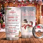 To My Husband DNR1311025 Stainless Steel Tumbler