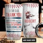 Baseball Son Personalized DNR1311018 Stainless Steel Tumbler