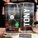 Baseball Calling Personalized MDA1311026 Stainless Steel Tumbler