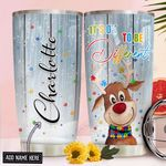 Autism Awareness Christmas Personalized NNR1311001 Stainless Steel Tumbler