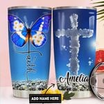 Faith Personalized DNR1311022 Stainless Steel Tumbler