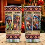 Colorful Native Girls Advice KD2 MAL1311004 Stainless Steel Tumbler