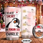 Penguin Size Personalized KD2 HNM1311007 Stainless Steel Tumbler