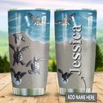 Personalized Turtle Painting Style TTZ1311034 Stainless Steel Tumbler