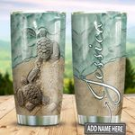Personalized Turtle Ceramic Style TTZ1311032 Stainless Steel Tumbler