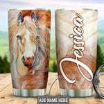 Personalized Horse Painting Style HLZ1311024 Stainless Steel Tumbler