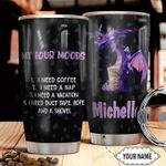 Personalized Purple Dragon Mood HHZ1311031 Stainless Steel Tumbler