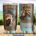 Personalized Horse HLZ1311022 Stainless Steel Tumbler