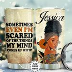 Black Woman Mind Personalized TAS1311005 Stainless Steel Tumbler