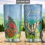 Personalized Butterfly HLZ1311010 Stainless Steel Tumbler