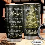Personalized Butterfly Angel HHZ1311009 Stainless Steel Tumbler