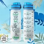 Personalized Horse Forest HHZ1311038 Water Tracker Bottle