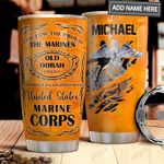 Marine Corp Personalized MDA1411007 Stainless Steel Tumbler