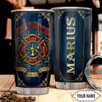 Firefighter Personalized THA1411015 Stainless Steel Tumbler