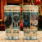 Cats Know Things Advice KD2 MAL1411001 Stainless Steel Tumbler