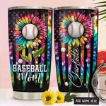 Baseball Mom Personalized NNR1411001 Stainless Steel Tumbler