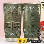 Dragonfly Personalized NNR1411011 Stainless Steel Tumbler
