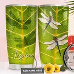 Dragonfly Personalized PYR1411012 Stainless Steel Tumbler