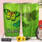 Butterfly Personalized NNR1411006 Stainless Steel Tumbler