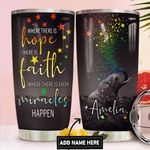 Elephant Faith Personalized DNR1411013 Stainless Steel Tumbler