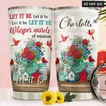 Faith Cardinal Personalized NNR1411014 Stainless Steel Tumbler