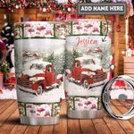 Red Truck Personalized PYR1411022 Stainless Steel Tumbler