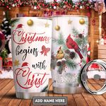 Faith Cardinal Personalized PYR1411015 Stainless Steel Tumbler