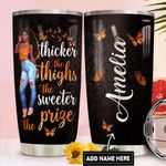 Thick Girl Personalized DNR1411025 Stainless Steel Tumbler