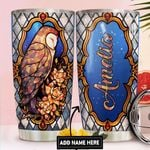 Owl Personalized DNR1411019 Stainless Steel Tumbler