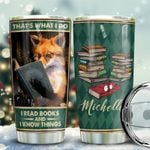 Fox Books Personalized KD2 BGX1411008 Stainless Steel Tumbler