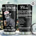 Nurse Coffee Personalized TAS1411005 Stainless Steel Tumbler
