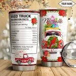 Red Truck Facts Personalized HTQ1411011 Stainless Steel Tumbler
