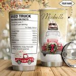 Red Truck Facts Personalized HTQ1411012 Stainless Steel Tumbler
