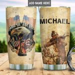 Personalized Veteran Eagle HLZ1411036 Stainless Steel Tumbler