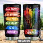 Personalized LGBT Turtle HHZ1411027 Stainless Steel Tumbler