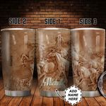 Personalized Horse Sculpture Style HHZ1411023 Stainless Steel Tumbler
