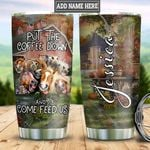 Personalized Horse Lover Coffee TTZ1411021 Stainless Steel Tumbler