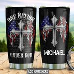 Personalized American Wings Faith HHZ1411007 Stainless Steel Tumbler