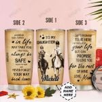 Personalized Horse Lover Mom To Daughter HHZ1411022 Stainless Steel Tumbler