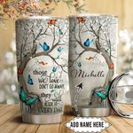 Butterfly Winter Personalized HTQ1611002 Stainless Steel Tumbler