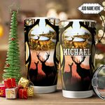 Deer Hunter Personalized HTC1611004 Stainless Steel Tumbler