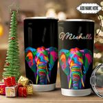 Elephant Colorful Personalized HTQ1611006 Stainless Steel Tumbler