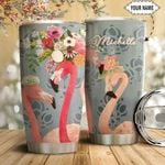 Flamingo Personalized HTQ1611007 Stainless Steel Tumbler