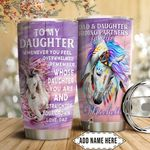 Riding Horse Personalized HTC1611014 Stainless Steel Tumbler
